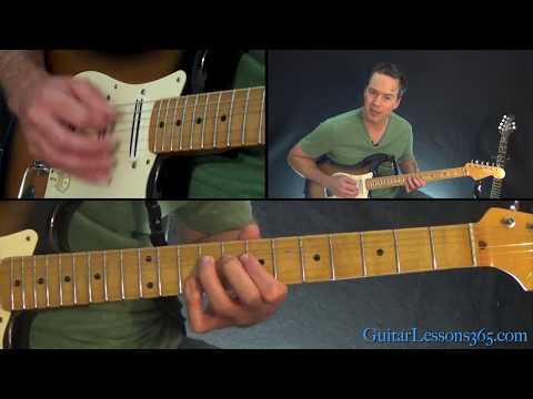 Midnight Rider Guitar Lesson - The Allman Brothers Band | Guitar ...
