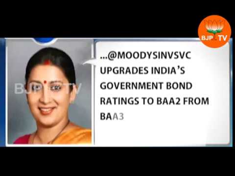 Moody's upgrades India's sovereign rating for first time in 14 years