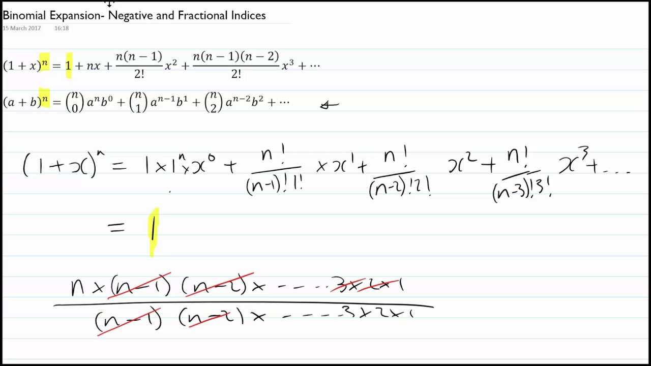 how to find coefficient of binomial expansion