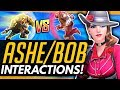 Overwatch | ASHE + BOB - We Test EVERYTHING -  All Ability Interactions vs ALL HEROES