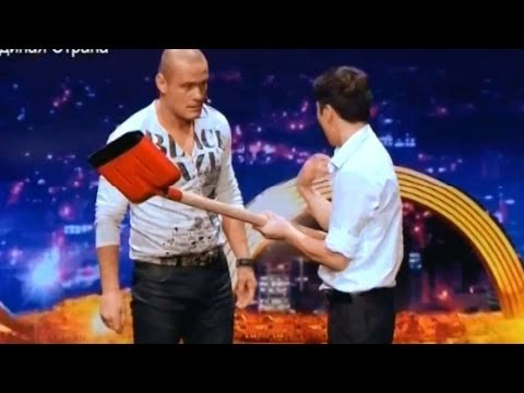 Украна ма талант 6 Азамат Бараков - ШОК Харьков 15.03.14