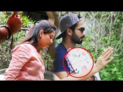 (Video) Shahid Kapoor & Mira Rajput Take BABY Home From Hospital