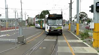The B1 Tram Last Ever Depot Car Out - The B1 2001 Farewell Tour