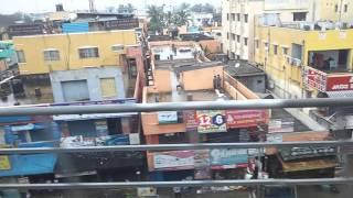 Chennai Flood On 2nd Dec 2015 Metro shot Ashok Nagar towards Alandur