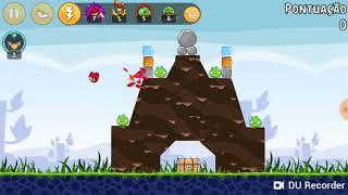 Jogando Angry Birds #1
