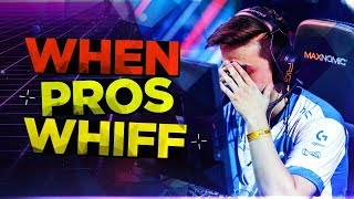 CS:GO - WHEN PROS WHIFF HARD! (MISS/FAIL EASY SHOTS)