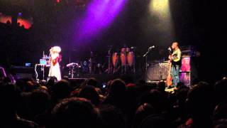 Erykah Badu - House of Blues - BOSTON - 3/3/13 - BADUIZM - Afro (Freestyle Skit)