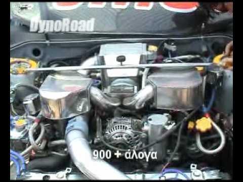 SUBARU IMPREZA 900HP Cyprus tuned Fastest Impreza in the world