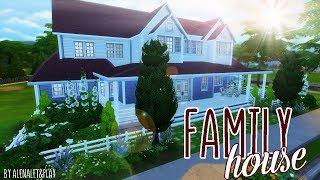 The Sims 4: Строительство | FAMILY HOUSE Часть 1