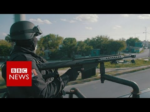 Trump's wall: On patrol in the border's deadliest town – BBC News