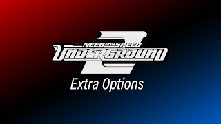 NFS Underground 2 - Extra Options - v2 [OFFICIAL RELEASE!] (v2.0.1.1337)