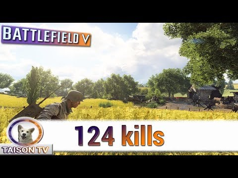 Battlefield V El Día del Junkers Paseando el avioncito 124 Kills - 동영상