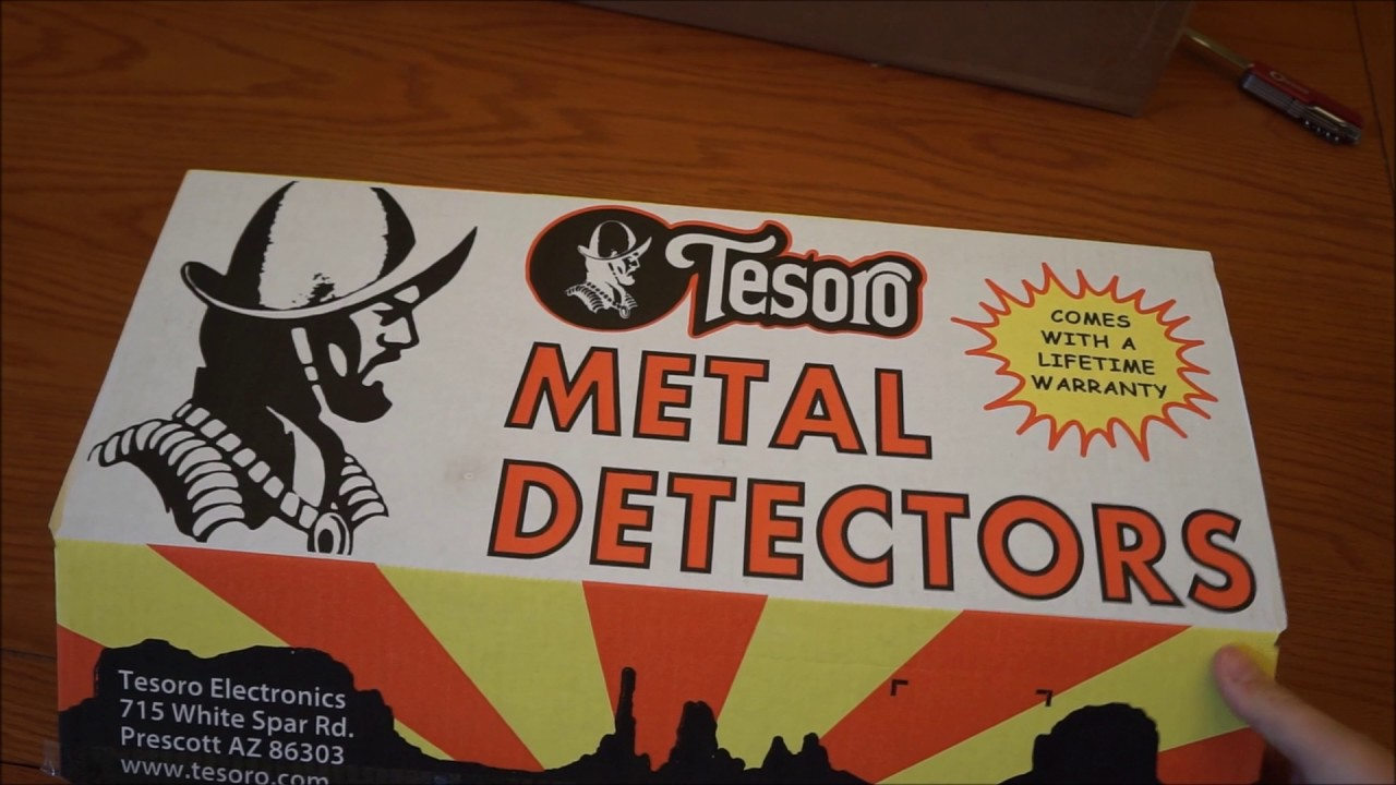 Tesoro Mojave metal detector unboxing ~ What's in the box?