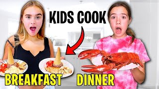 KIDS COOK FOR 24 HOURS! *BAD IDEA!!