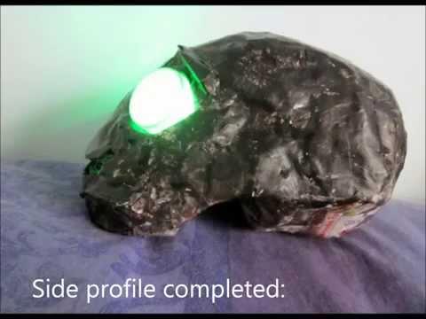 Tutorial - How to make a paper mache Dead Master Skull [FAIL]
