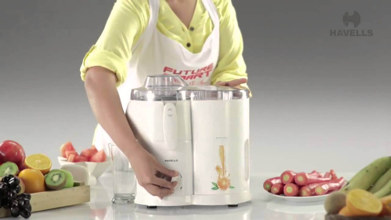 Havells Endura Juicer Mixer Grinder Demo - YouTube