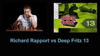 Richárd Rapport vs Deep Fritz 13 Part 1
