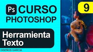 🔴 Herramienta TEXTO en PHOTOSHOP | curso de Photoshop ⭐⭐⭐⭐⭐