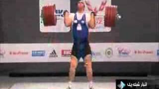 قهرمان وزنه برداری جهان