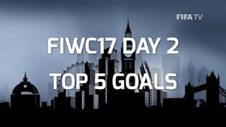 TOP 5 GOALS - FIWC2017 - KNOCKOUT STAGE