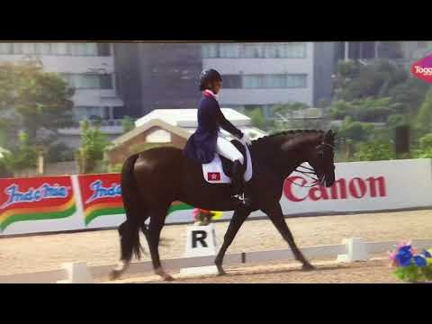 Jacqueline Siu And Jockey Club Fuerst On Tour At The 18th Asian Games Jakarta-Palembang 2018