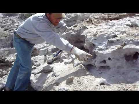 Rick mining gem topaz