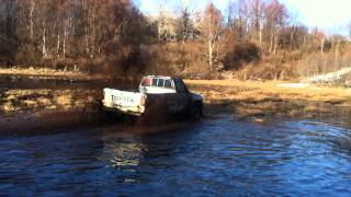 solid axel toyota mobbing water