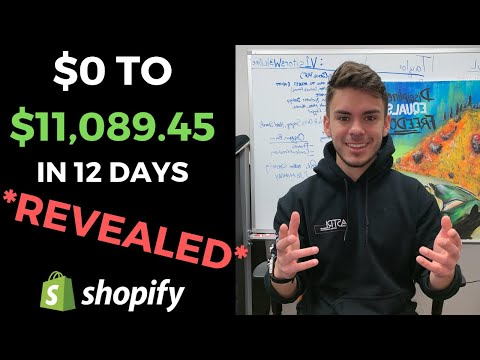 ZERO to $11,089.45 in 12 Days on Shopify - HERE IS THE STRATEGY I USED | Facebook Ads Breakdown thumbnail