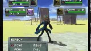 Pokemon Colosseum Gameplay Gamecube | Part 1 | Robles Junior