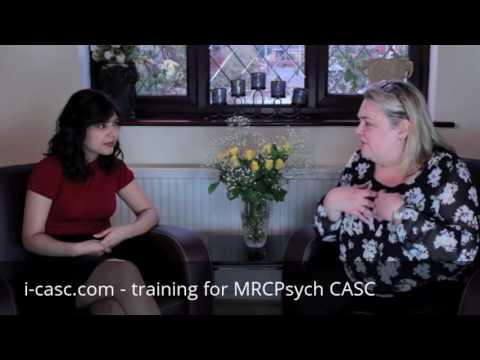 I-CASC - MRCPsych CASC preparation - Explaining psychosis to mother