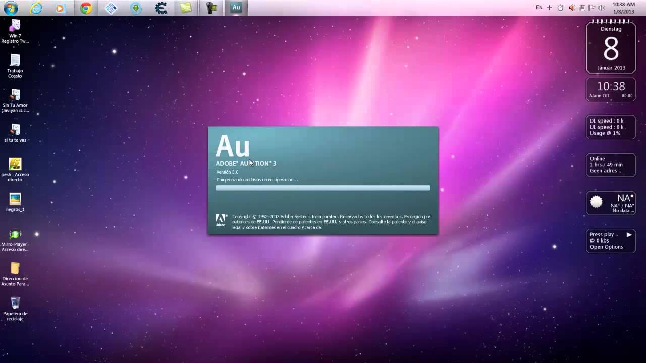 como descargar adobe audition 3.0 para mac