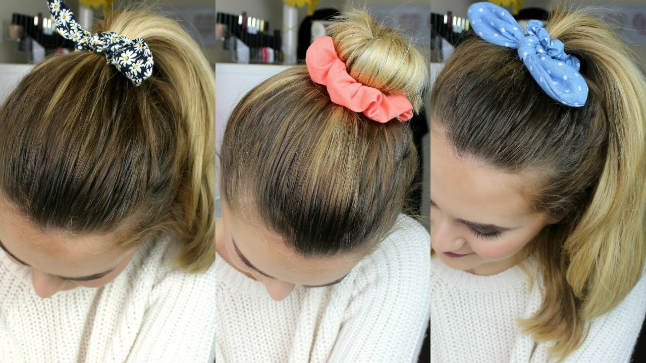 Scrunchie Hair Styles
