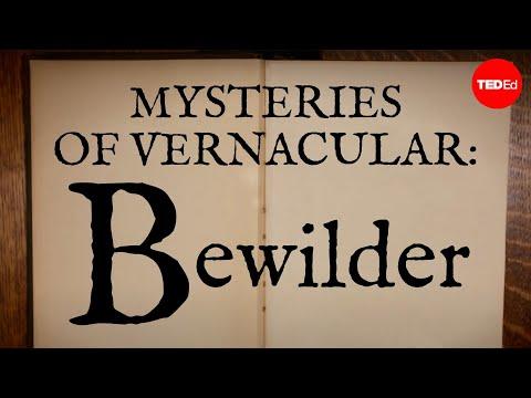 Video image: Mysteries of vernacular: Bewilder - Jessica Oreck and Rachael Teel