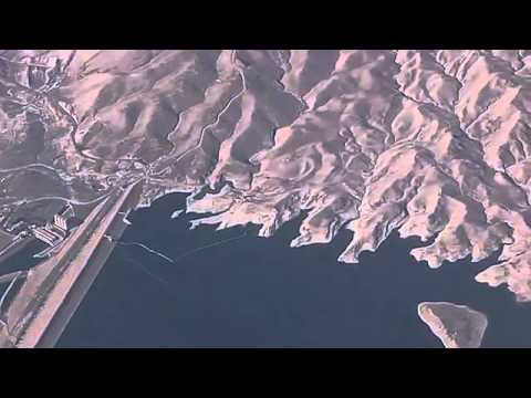 Mosul Dam Tigris River Aerial,Iraq HD   سد الموصل من الجو عالي جدا