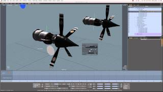 Controlling Propellers in MODO