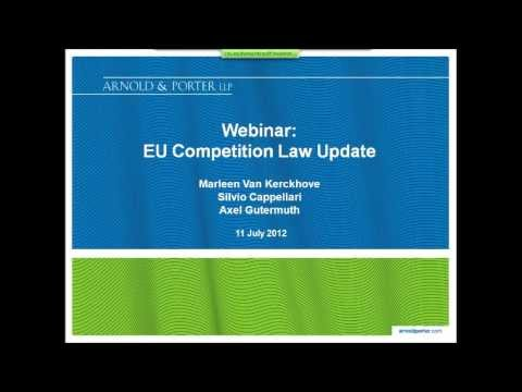 EU Competition Law Update (July 2012)