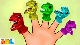 T-REX DINOSAURS Finger Family | Kids Songs And More | All Babies Channel