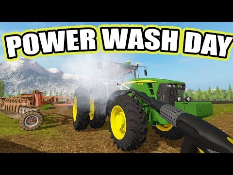 FARMING SIMULATOR 2017 | POWER WASH DAY + BUYING MORE SHEEP | MULTIPLAYER | EP #35