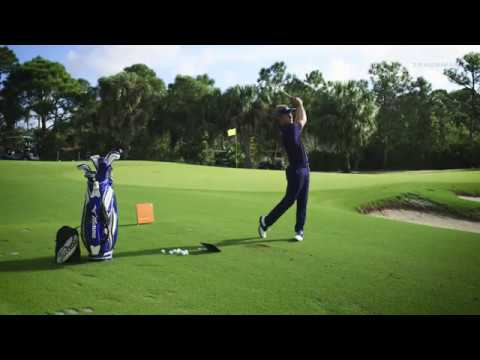 Luke Donald sharing a few thoughts about TrackMan