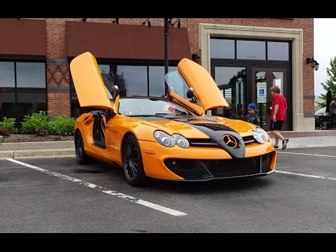 2009 Mercedes Benz SLR McLaren MSO Edition 722 S & Start Up on My Car Story with Lou Costabile