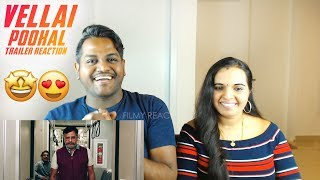 Vellai Pookal Trailer Reaction Malaysian Indian Couple Vivekh Charle