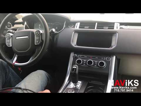 2017 Range Rover Sport L494 NAViKS Video In Motion Bypass Enable DVD & HDMI Input While In Motion