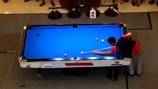 Agus Puad BBC VS Jefry Zen di 8 Besar Open Turnamen Billiard Walikota Cup LubukLinggau 2017