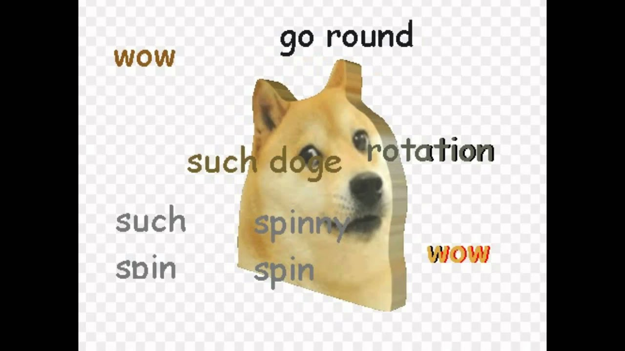 maxresdefault the spinning doge gif with fitting music youtube
