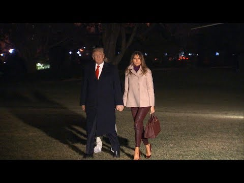 Trump returns to the White House after the holidays with tweets