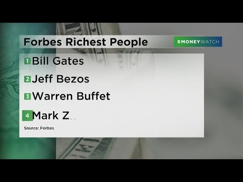 Bill Gates Tops Forbes' List Of Richest People