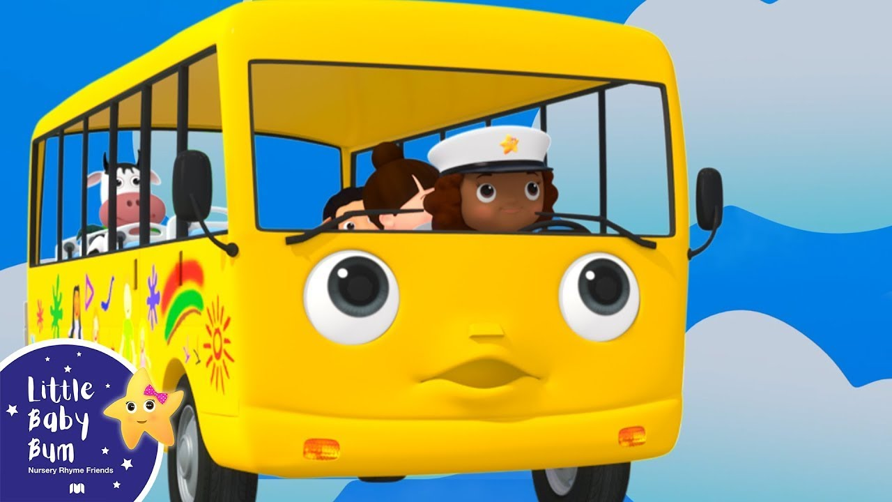 Wheels On The Bus | Best Baby Songs | Kids Cartoon | Nursery Rhymes | Little Baby Bum