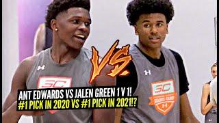 Jalen Green vs Anthony Edwards 1v1 King Of The Court!! Potential #1 Pick in 2020 vs #1 Pick in 2021?