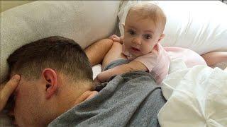 WAKING UP DAD! {12.12.2015}