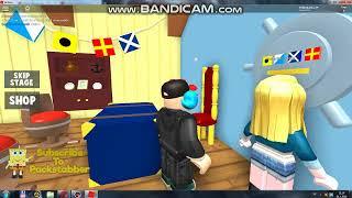 Roblox Stealing The Secret Formula Escape Spongebob